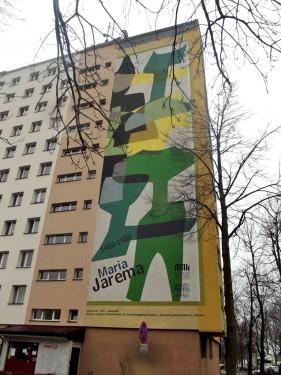 Maria Jarema Mural Osiedle Azory