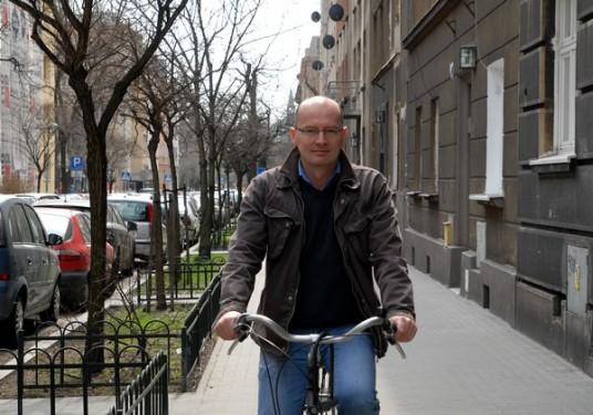 Piotr Klimowicz, Przewodniczący Rady Dzielnicy V Krowodrza fot. LechMikulski.com
