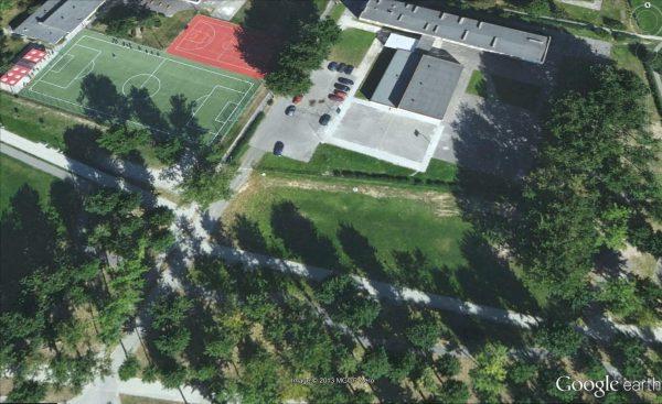 Ubita ziemia. Źródło: Google Maps.