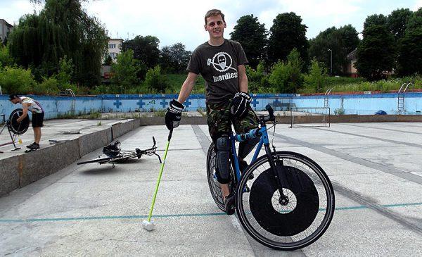 Bike Polo Kraków.