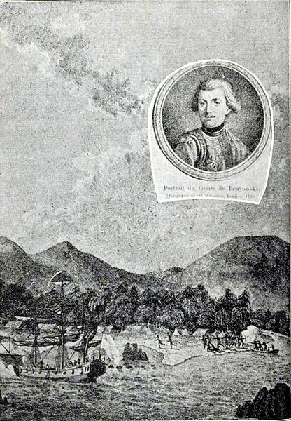 Beniowski na Formozie. Źrodło: Wikimedia.