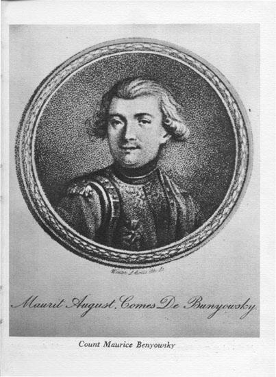 Maurycy Beniowski. Źródło: Wikimedia.