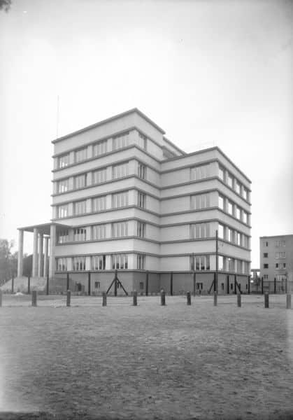 Dom Legionisty im. Marszałka Józefa Piłsudskiego w Krakowie, lata 1934 - 1936. NAC.