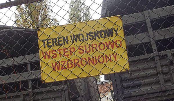 Jednostka przy Wrocławskiej.