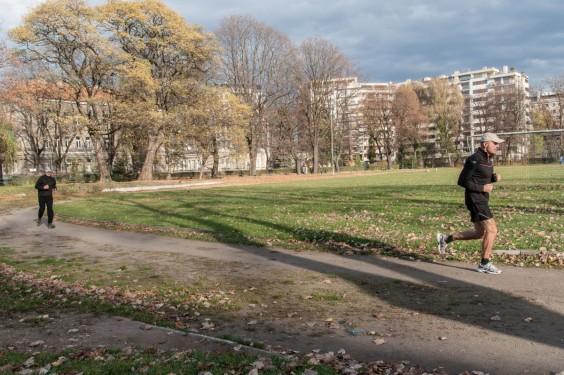 Sport to zdrowie, a jogging to w wojsku norma. Fot. Jakub Włodek.