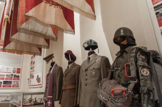 Muzeum 6. Brygady Powietrznodesantowej. Fot. Jakub Włodek.