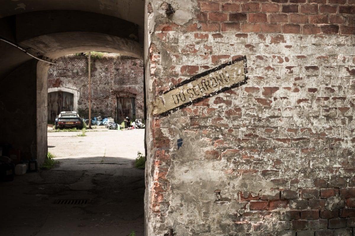 """Fort nr 7 """"Za rzeką"""" Bronowice"""