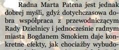 Marta Patena, radni z PO