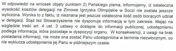 delegacja soczi Kraków 2022