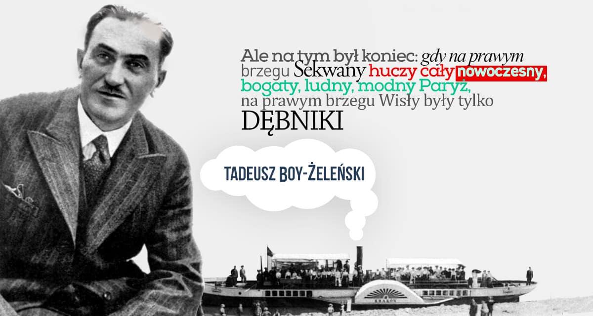 Tadeusz Boy-Żeleński - Prawy brzeg Wisły