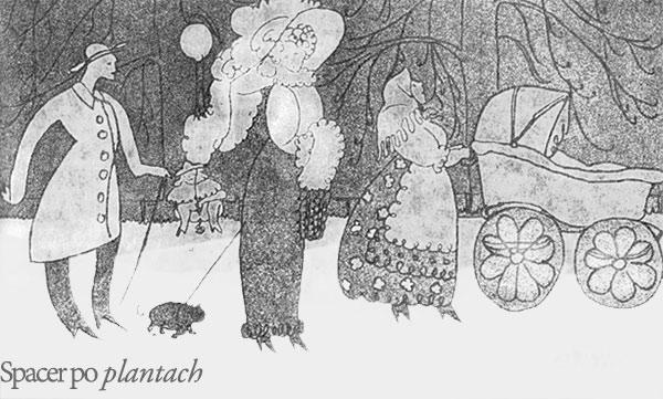 Spacer po Plantach