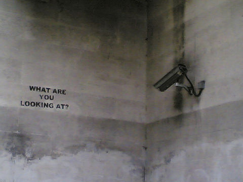 """""""CCTV watching what??"""" by Improbulus. Flickr/Creative Commons."""