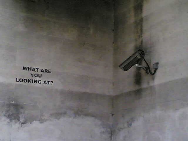 """CCTV watching what??"" by Improbulus. Flickr/Creative Commons."