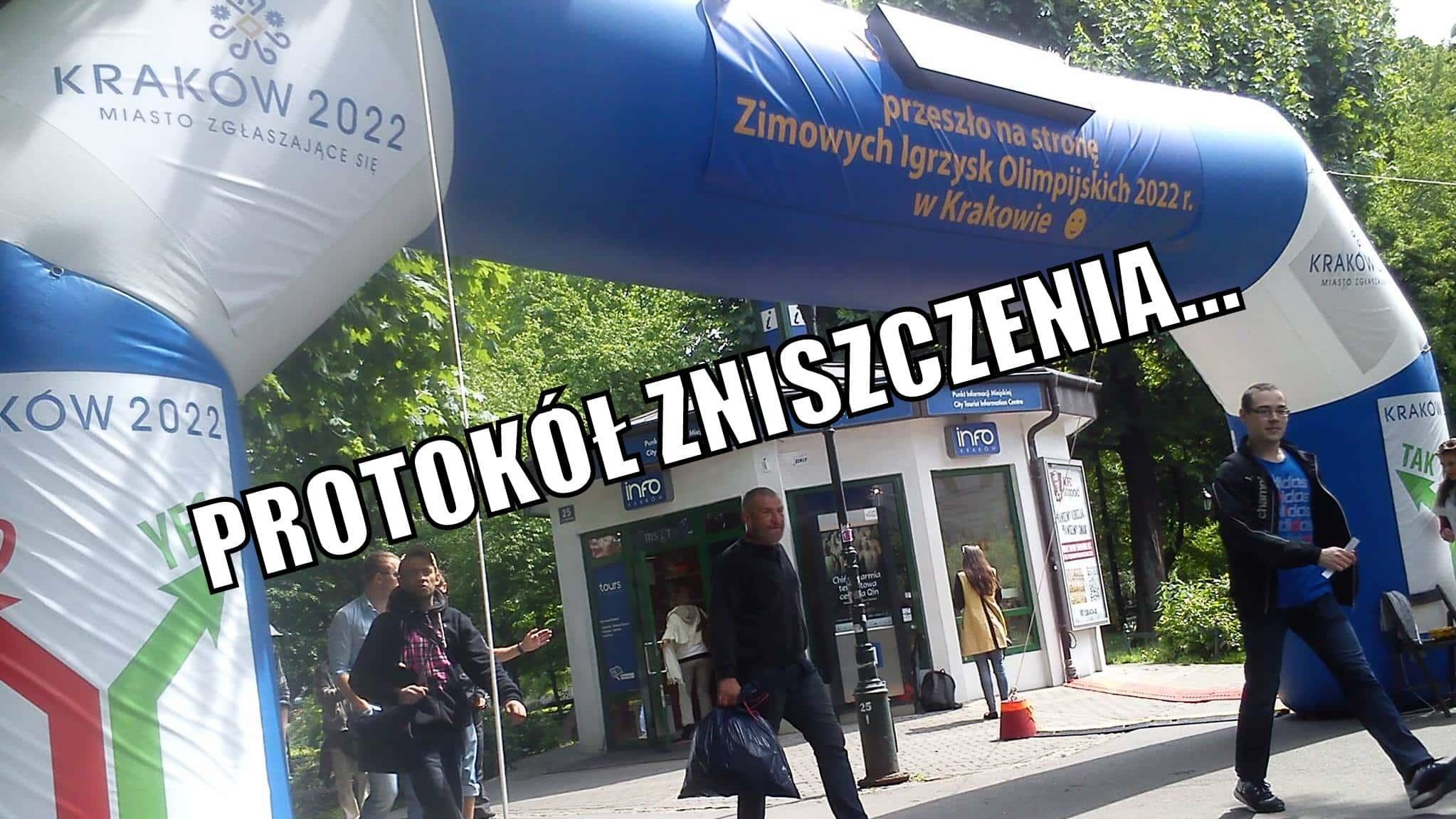 Bramka Protokół Zniszczenia Igrzyska Olimpijskie Kraków