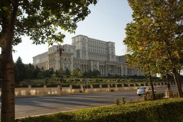Pałac Ceausescu. Bukareszt.
