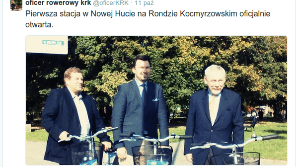 Marcin Wójcik, Oficer Rowerowy KRK