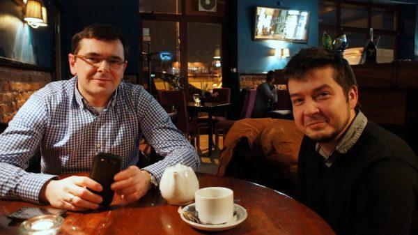 Michał Pyclik i Piotr Hamarnik.