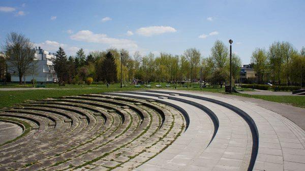 Amfiteatr na os. Widok, czyli krakowska kpina z budżetu obywatelskiego.