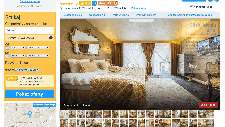 Wycieczka do Wilna Hotel