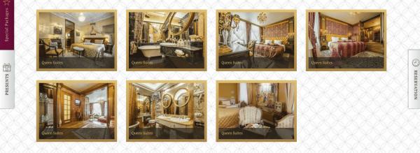 Krakowscy urzędnicy nie mogli się oprzeć leksusowi, którym kusi strona hotelu Ramada. Źródło: http://www.ramadavilnius.lt/.