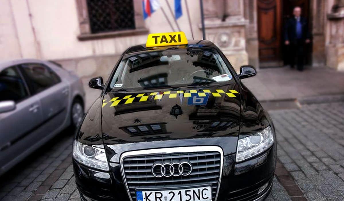 Taksówka w Krakowie