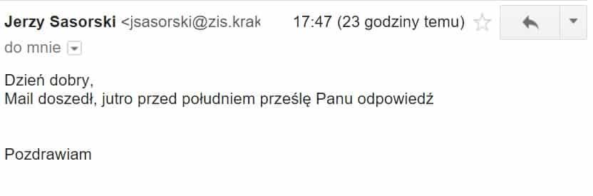 Filiżanki Ćmielów Zarząd Infrastruktury Sportowej Jerzy Sasorski