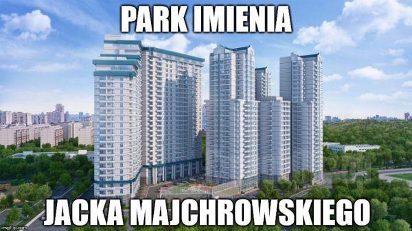Pomnik prezydenta Majchrowskiego