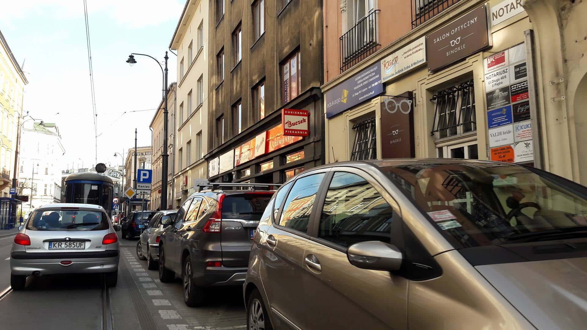 Ulica Długa. Kraków.