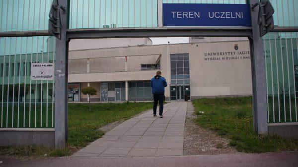 Kampus UJ. Osiedle Ruczaj. Kraków.