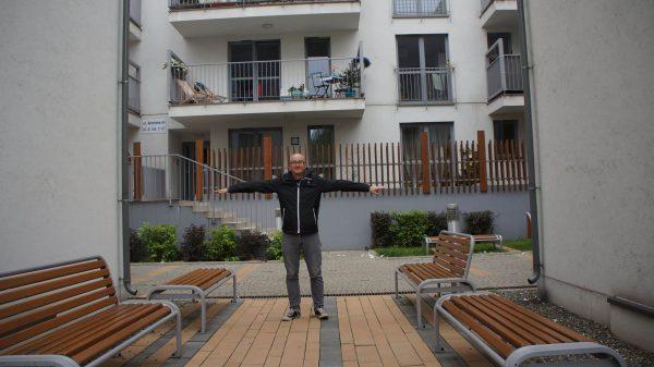 Park kieszonkowy. Apartamenty Wielicka. Mieszkania w Krakowie.