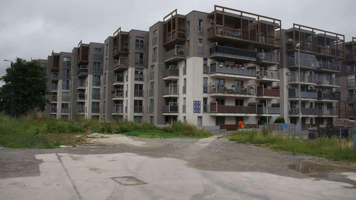 Osiedle w Krakowie. Apartamenty Wielicka. Mieszkania w Krakowie.