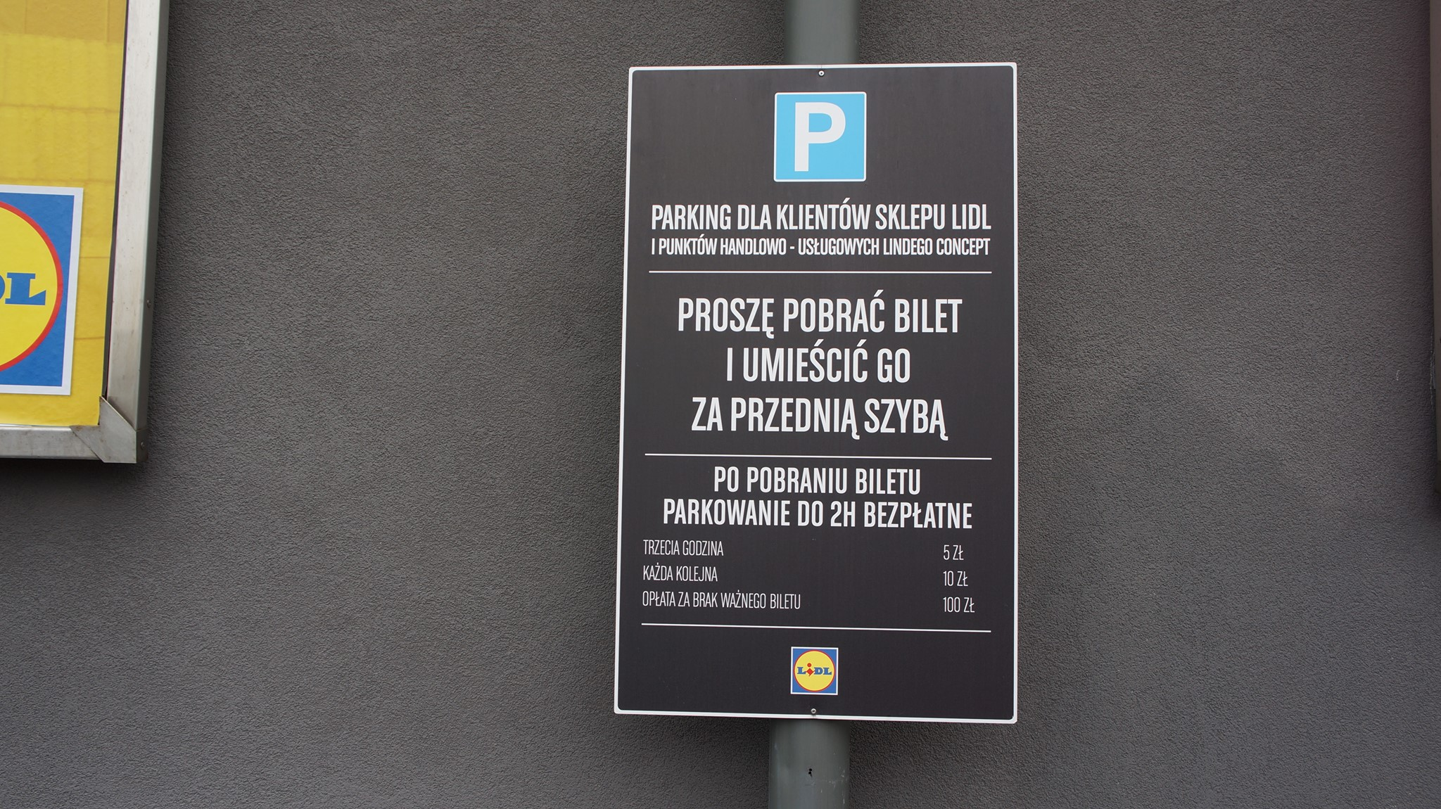 System parkingowy dla osiedla lidl