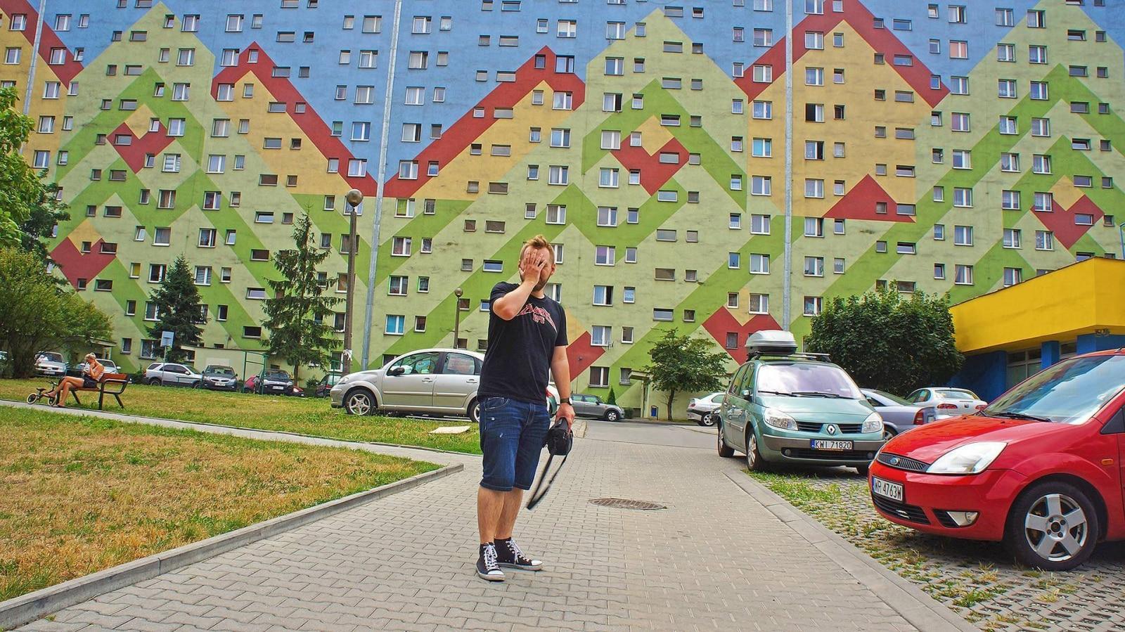 Malowanie Bloków: Kraków.