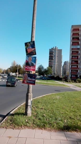 Kraków. Wybory 2018.