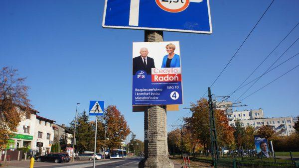 Cecylia Radoń. Wybory 2018.