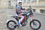 Staszic - nowy motocykl elektryczny zbudowany przez studentów AGH fot. Zbigniew Sulima (1)