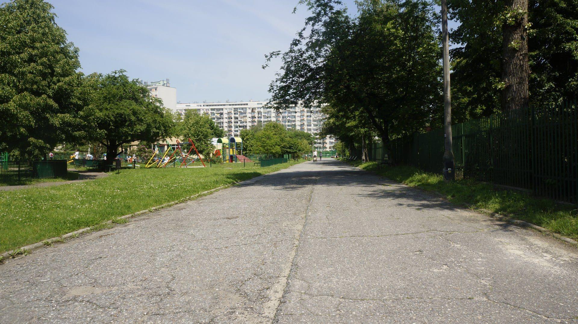architektura osiedli mieszkaniowych Osiedle Widok Plac Zabaw