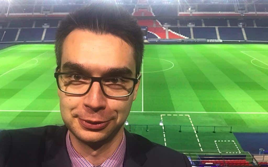 Marketing Kraków Damian Juszczyk we Francji na stadionie Paris Saint-Germain