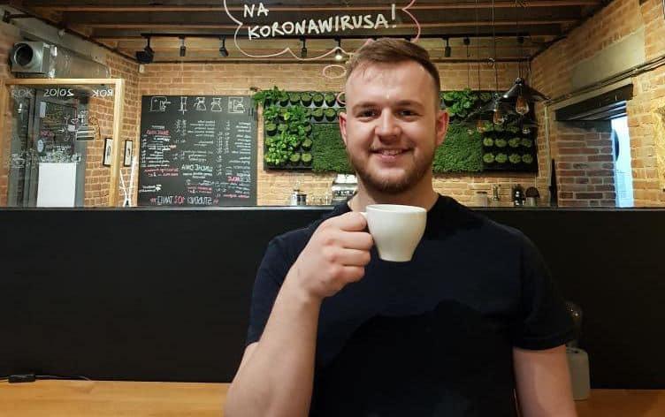 Wojciech Łukaszczyk Kombinat Cofee & Bar