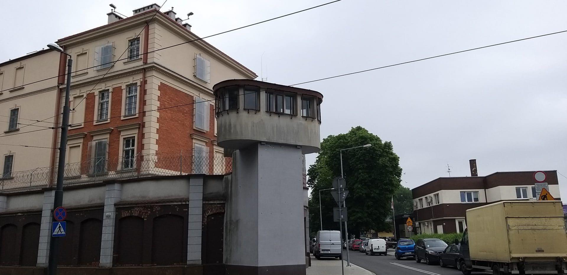Ulica Montelupich w Krakowie. Areszt śledczy.