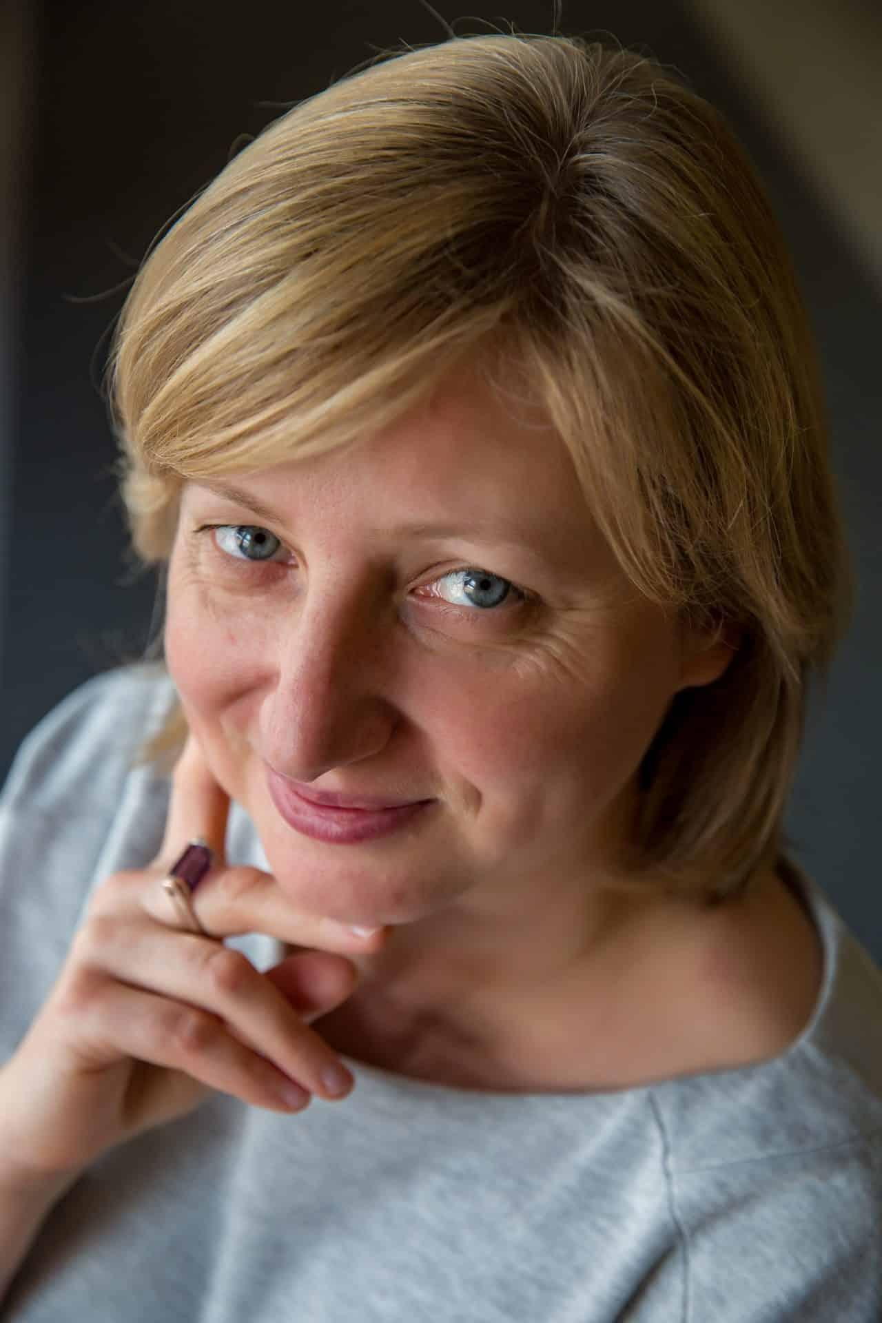 """Małgorzata Mrowiec -  nagradzana dziennikarka """"Dziennika Polskiego""""."""