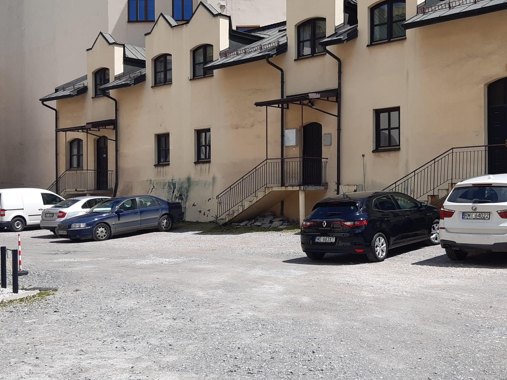 parking dla radnych parkowanie w centrum Krakowa