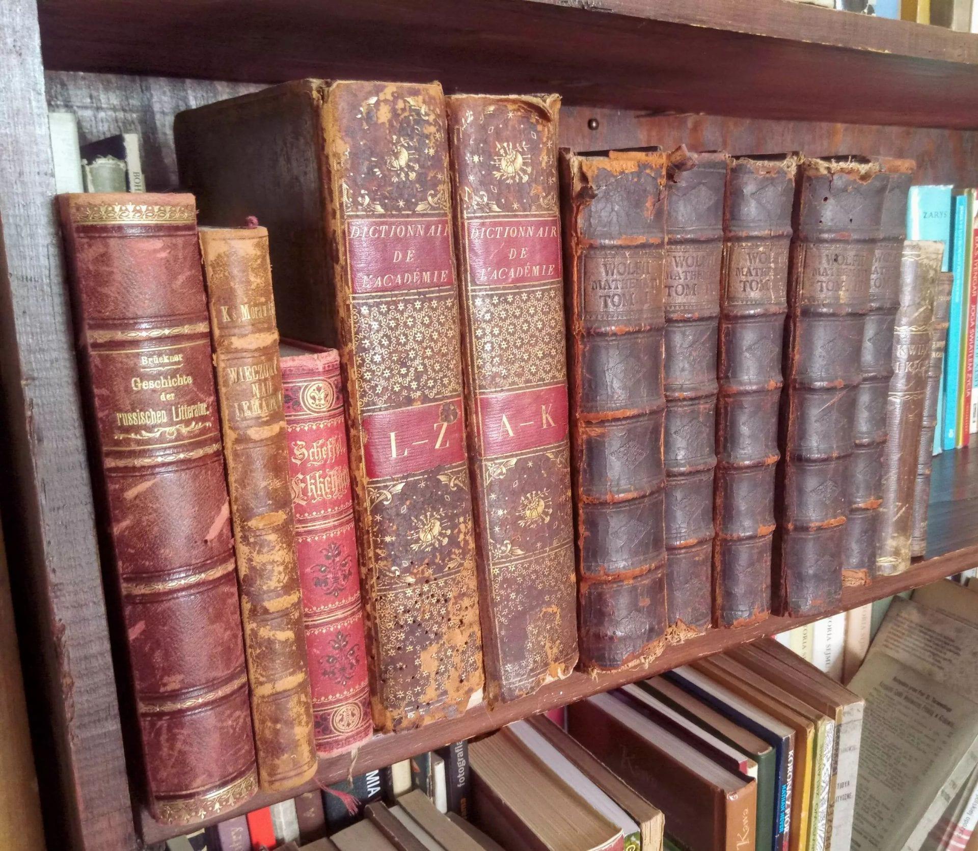 Krakowski antykwariat Suszek Books organizuje aukcję.