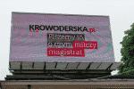 Ulica Montelupich w Krakowie Zakazana Reklama Krowy Krowoderska.pl