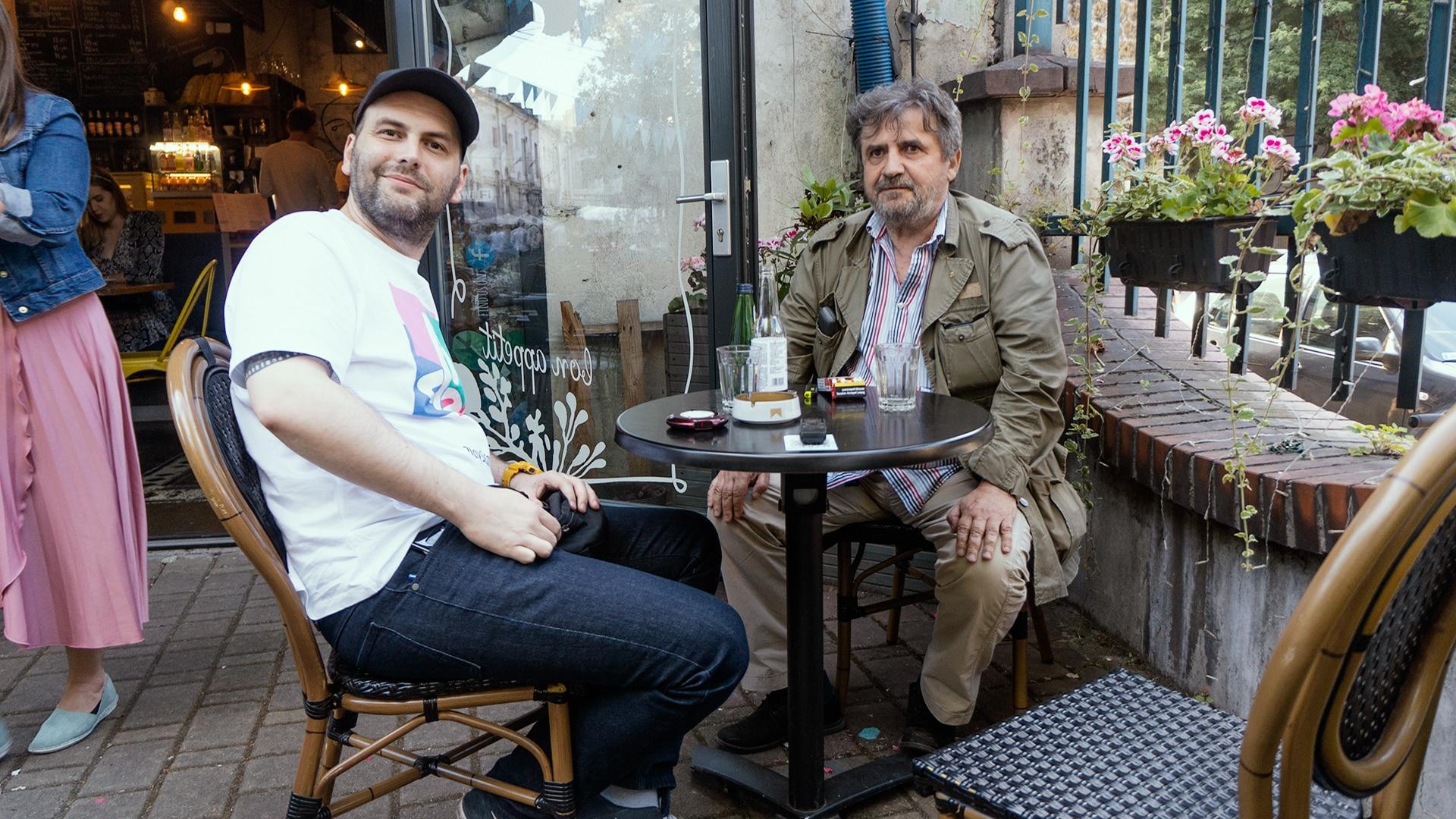 Grzegorz Krzywak i Adam Kalita.