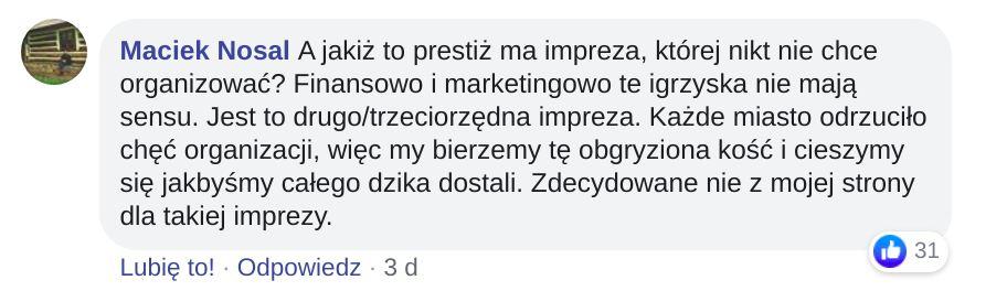 Prestiż Kraków Igrzyska Europejskie