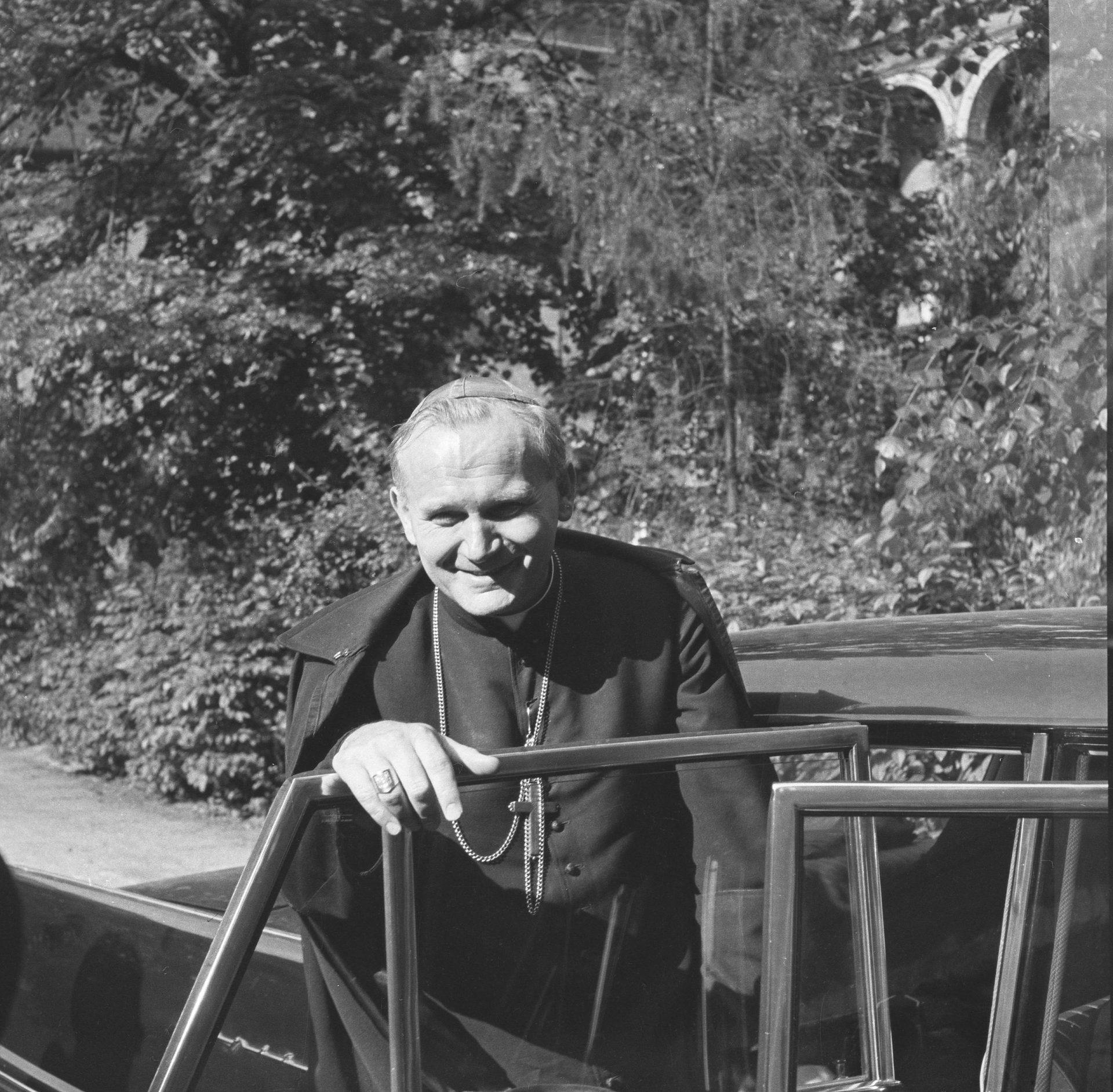 Kardynał Karola Wojtyła Fot. Adam Bujak