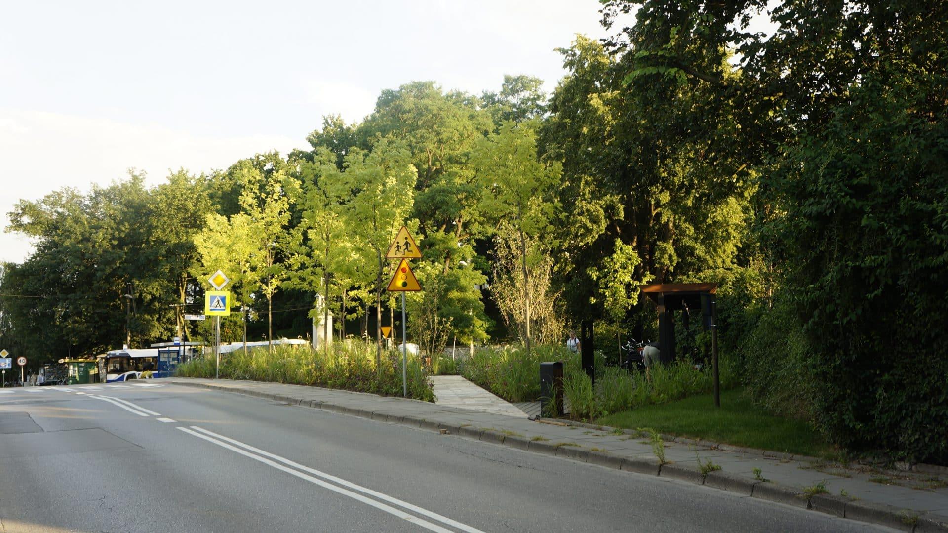 Parki kieszonkowy w Mydlnikach.