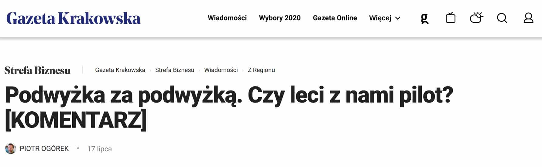 Niespełna trzy miesiące po tym, jak Dawid Serafin zaalarmował, że budżet Krakowa jest w złym stanie,  ogłoszono plany podwyżek.