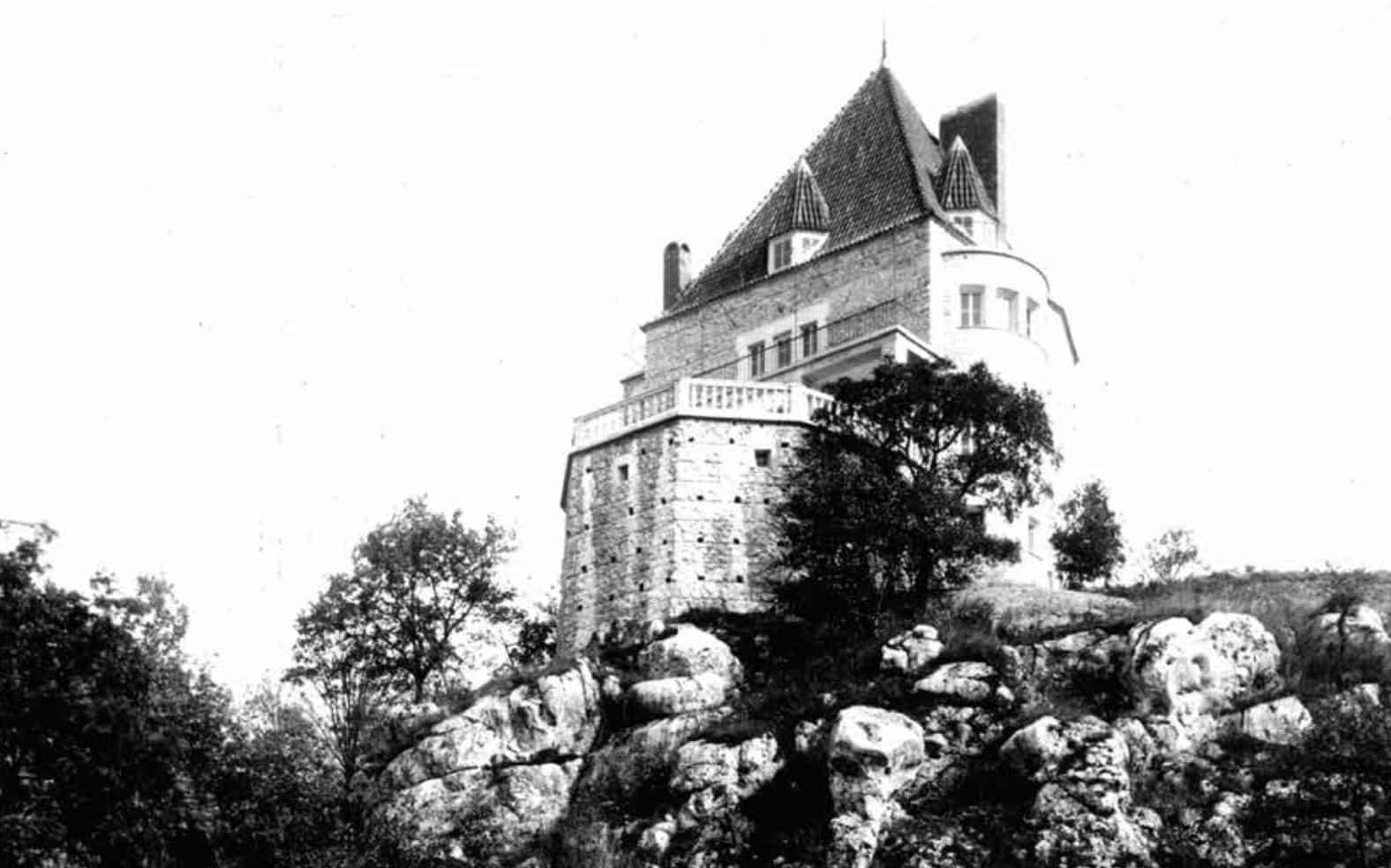 Willa Adolfa Szyszko-Bohusza w Przegorzałach. Źródło: Krakowski Szlak Modernizmu.